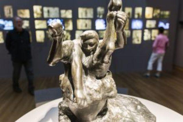 Escultura Rodin el Fauno