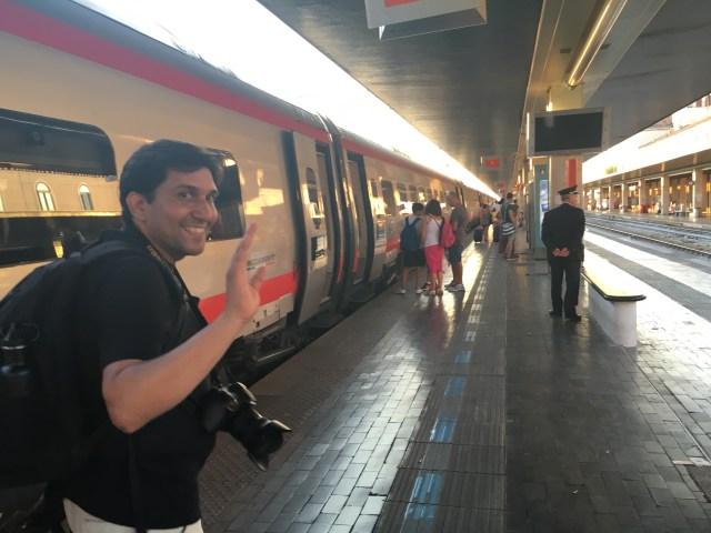 Zona de embarque TrenItalia