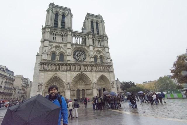 Frontis Catedral de Notre Dame de Paris
