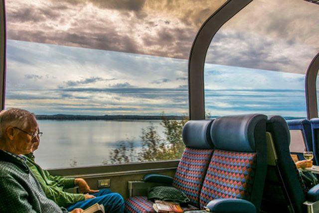 Vagón panorámico Tren Canadian