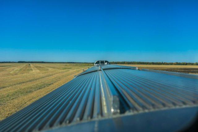 Vista del Tren Canadian del vago mirador