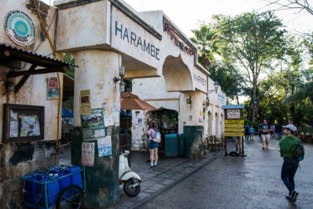 Harambe Market zona de restaurantes