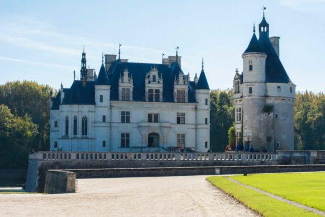 Fachada Castillo de Chenonceau