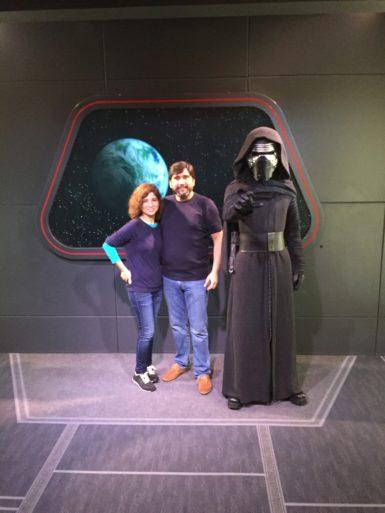Foto con Kylo Ren Star Wars