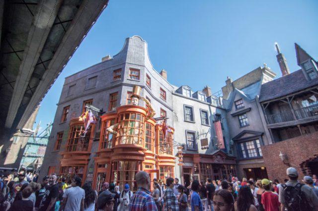 Tienda de bromas de los hermanos Weasley