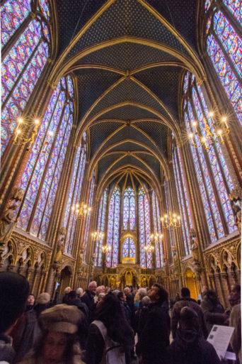Capilla superior Santa Capilla París