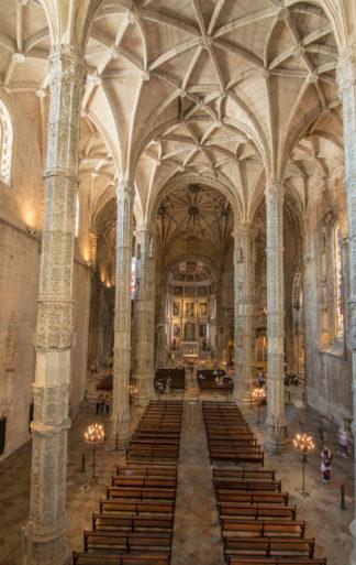 Nave del Monasterio de los Jerónimos