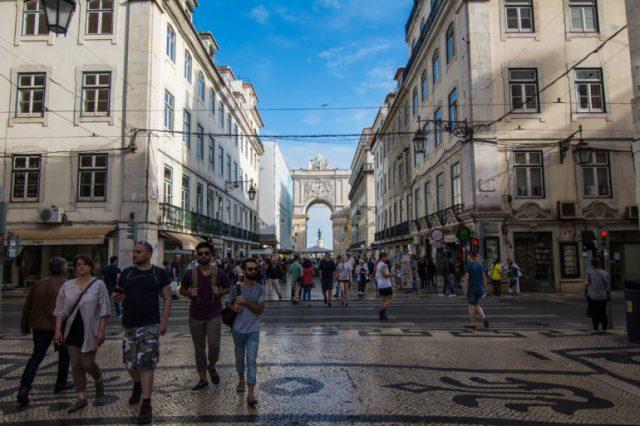 Arco del triunfo rua Augusta Lisboa