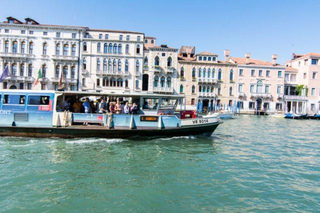 Vaporetto linea 6 Venecia