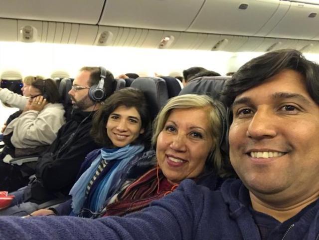 Air France camino a Paris