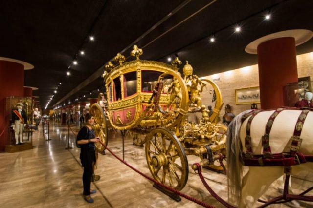 Galería de Carrozas Museos Vaticano