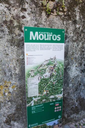 Mapa del Castillo de los Moros