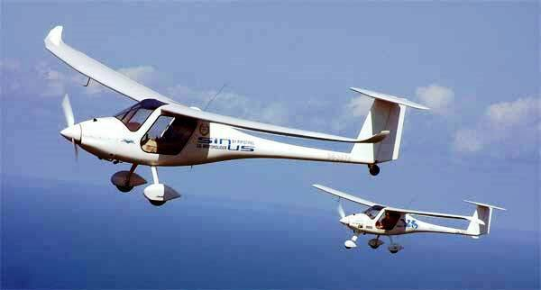 An image of a flying glider of Jharkhand Flying Institute