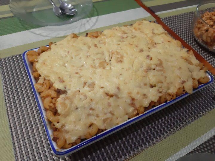 Cheesy Creamy Baked Mac