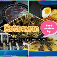 Order at Eataewon for your Tteokbokki, Kimbap, Jjajangmyeon, and Hyun Bin (Bun) food cravings!