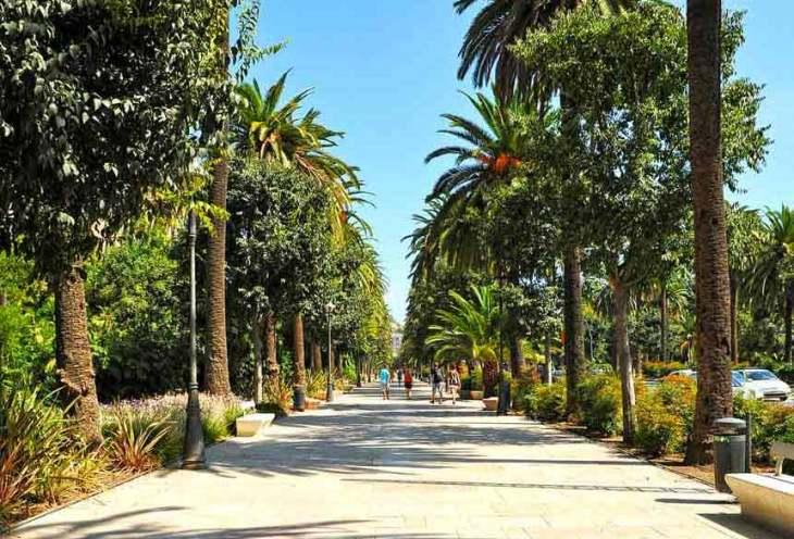 Parque de la Alameda o Parque de Málaga - Tripkay