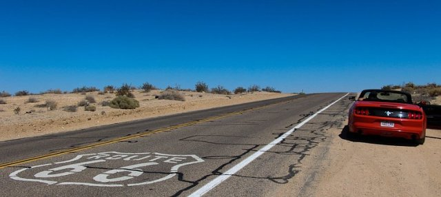 Road in Las Vegas where long distance moving companies Las Vegas operate