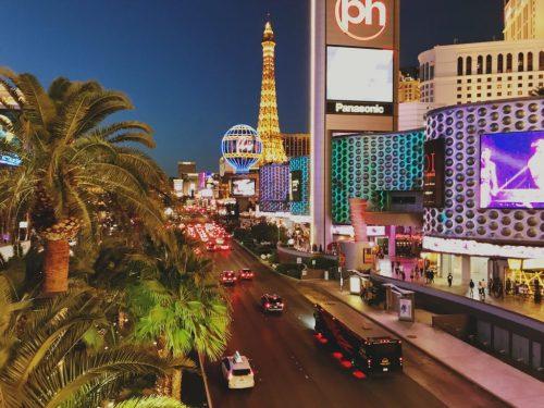 A street in Las Vegas