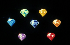 The seven Rainbow Crystals serves as the basis for a seven-episode story arc of the original Sailor Moon anime