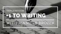 +1 to Writing: A Conversation with Jennifer Brozek