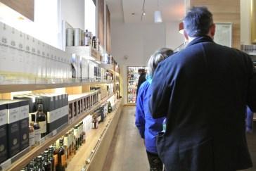 Edinburgh Whisky Experience.