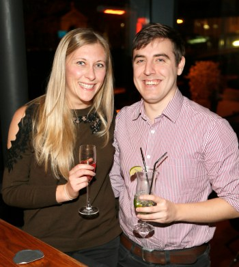 no fee if The River Lee mentioned in caption The River Lee Unveils their Local Taste Toddies on the Terrace Menu Olivia Stiles and Joseph Harton at The River Lee's Local Taste Toddies on the Terrace event -photo Kieran Harnett The River Lee Hotel showcase their special Local Taste Toddies on the Terrace menu to be enjoyed during the Christmas and Winter season, which brings together the best local artisan product offerings across food and drink. Visit The River Lee to enjoy Toddies on the Terrace this winter season. For further information, please contact Donna Parsons, Edelman: Email: Donna.Parsons@edelman.com Phone: 01 678 9333| 087 650 1468