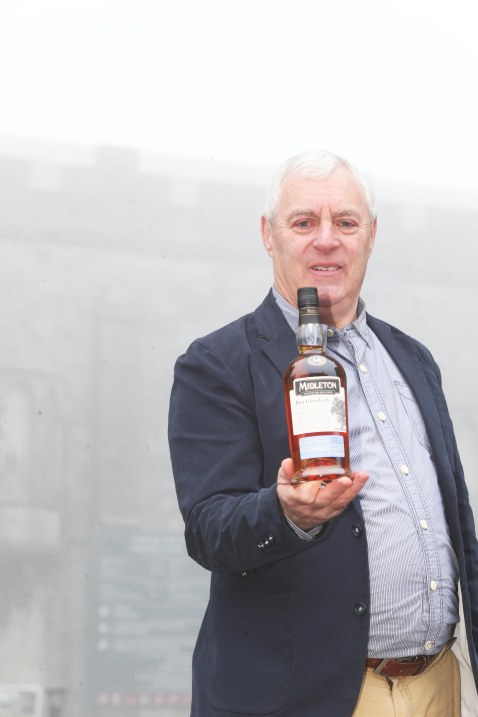 NO REPRO FEE 12/01/2018 Kilkenny Whiskey Guild. Pictured at a Kilkenny Whiskey Guild tasting event is Dave McCabe, Midleton Blender, in celebration of Irish Distillers next chapter in its Virgin Irish Oak Collection of Single Pot Still Irish Whiskeys; Midleton Dair Ghaelach Bluebell Forest edition. This exceptional offering has been finished in barrels made from Irish oak grown in the Bluebell Forest of Castle Blunden Estate in County Kilkenny. Photograph: Leon Farrell / Photocall Ireland