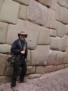 Pre Incan wall - Cusco,Peru - 2013