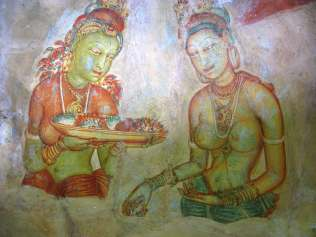 Tara Fresco - Sigiriya