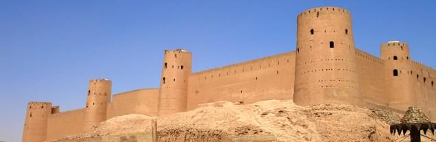 Outer walls - Citadel of Herat