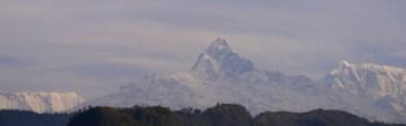 Himalayas from Pokhara