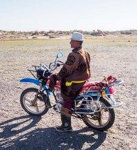 Mongolian Biker
