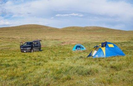 Campsite - Ogii Nuur