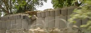 Blast Wall - US army base