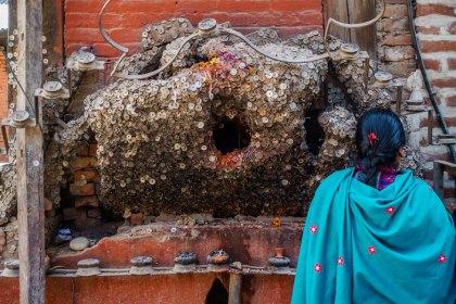 Toothache Shrine - Kathmandu 2017
