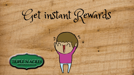 Earn rewards for every purchase