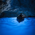 青の洞窟 カプリ島