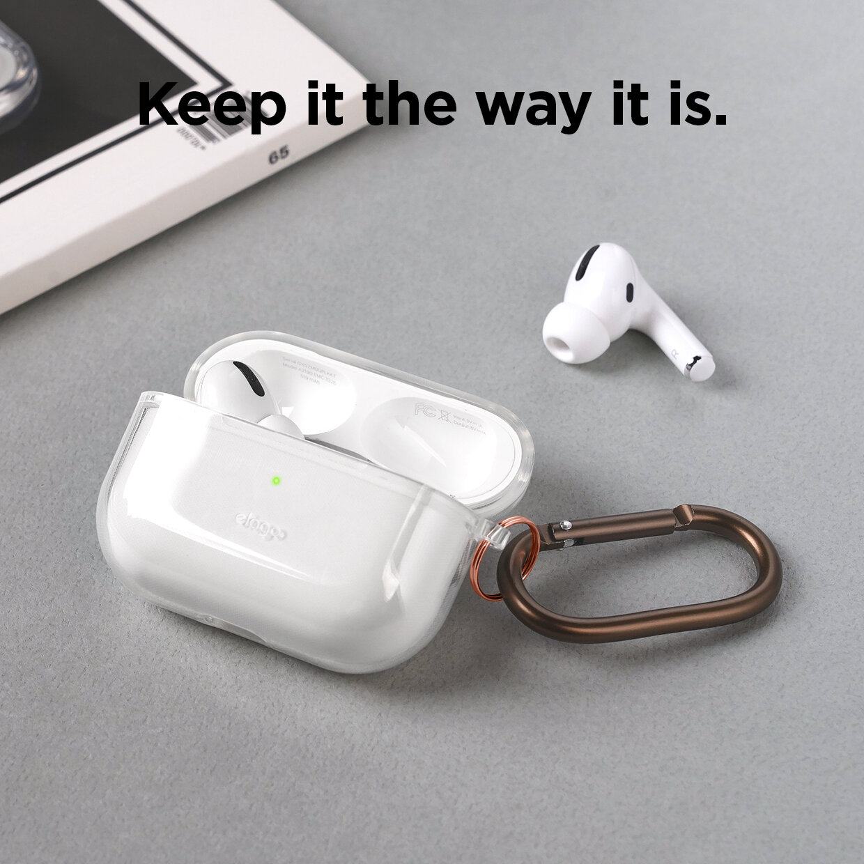Airpods Pro Clear Hang Case Transparent Triple R Distribution Cambodia
