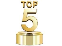 Top five trophy