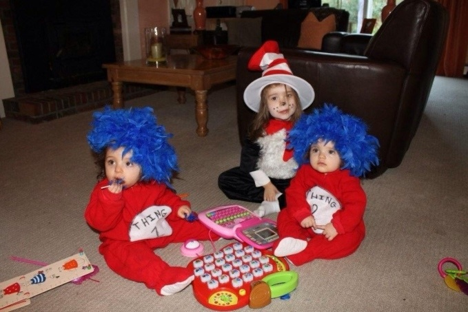 Halloween costumes for triplets