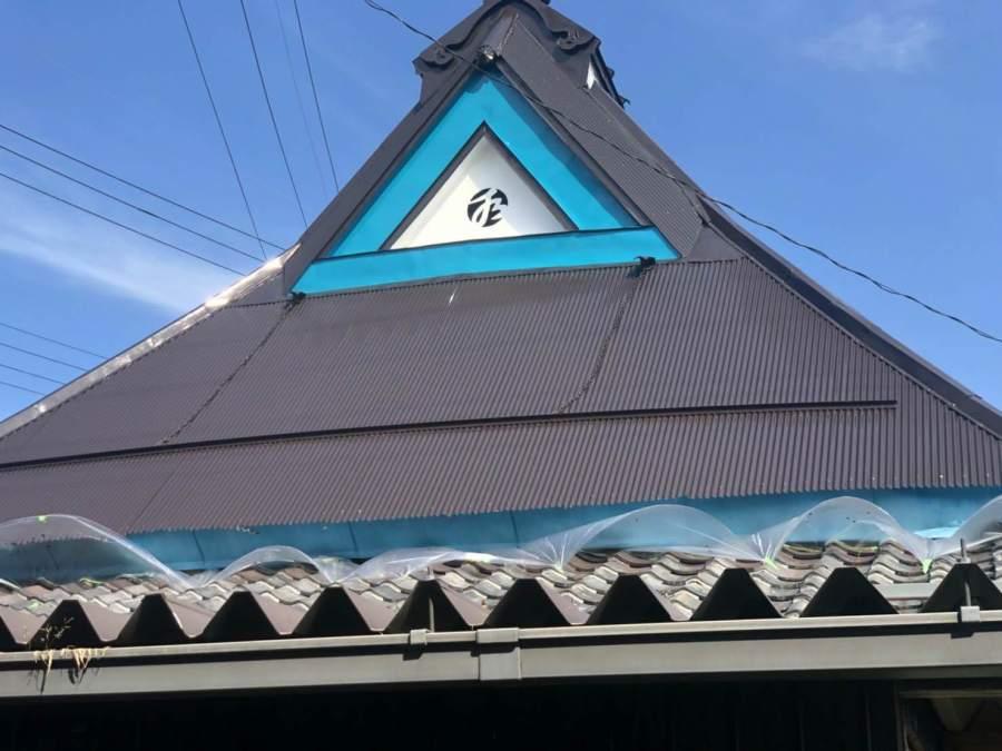 トタン屋根塗装完成