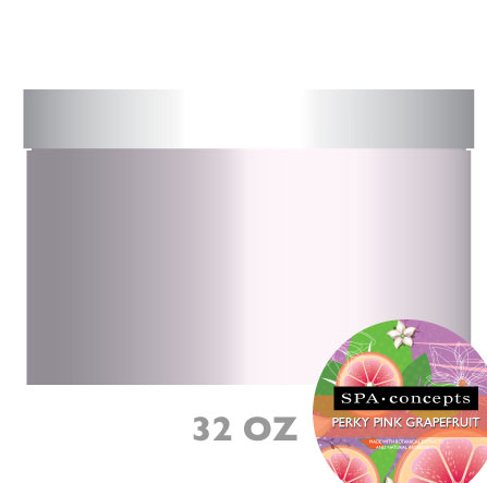 Spa Concepts: Perky Pink Grapefruit Shea Butter