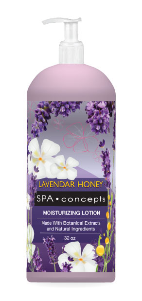 Spa Concepts: Lavender Honey Body Lotion