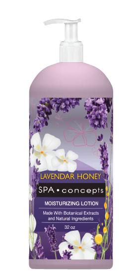 Spa Concept: Lavender Honey Body Lotion