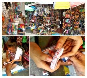 菲律賓伴手禮,繡名字的手環-馬克坦島
