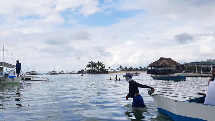 菲律賓港口,船夫