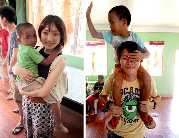海外慈善活動, 海外孤兒院, 國外志工活動