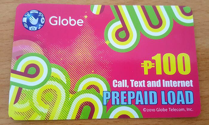 Globe儲值卡,100網卡,菲律賓手機網路
