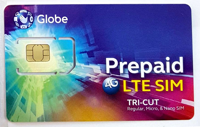 Globe電話卡 | Globe-Prepid-SIN卡