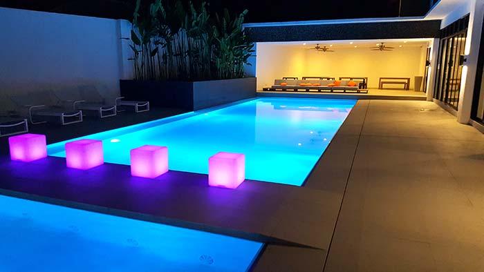 EV游泳池,EV校區建築,設備環境